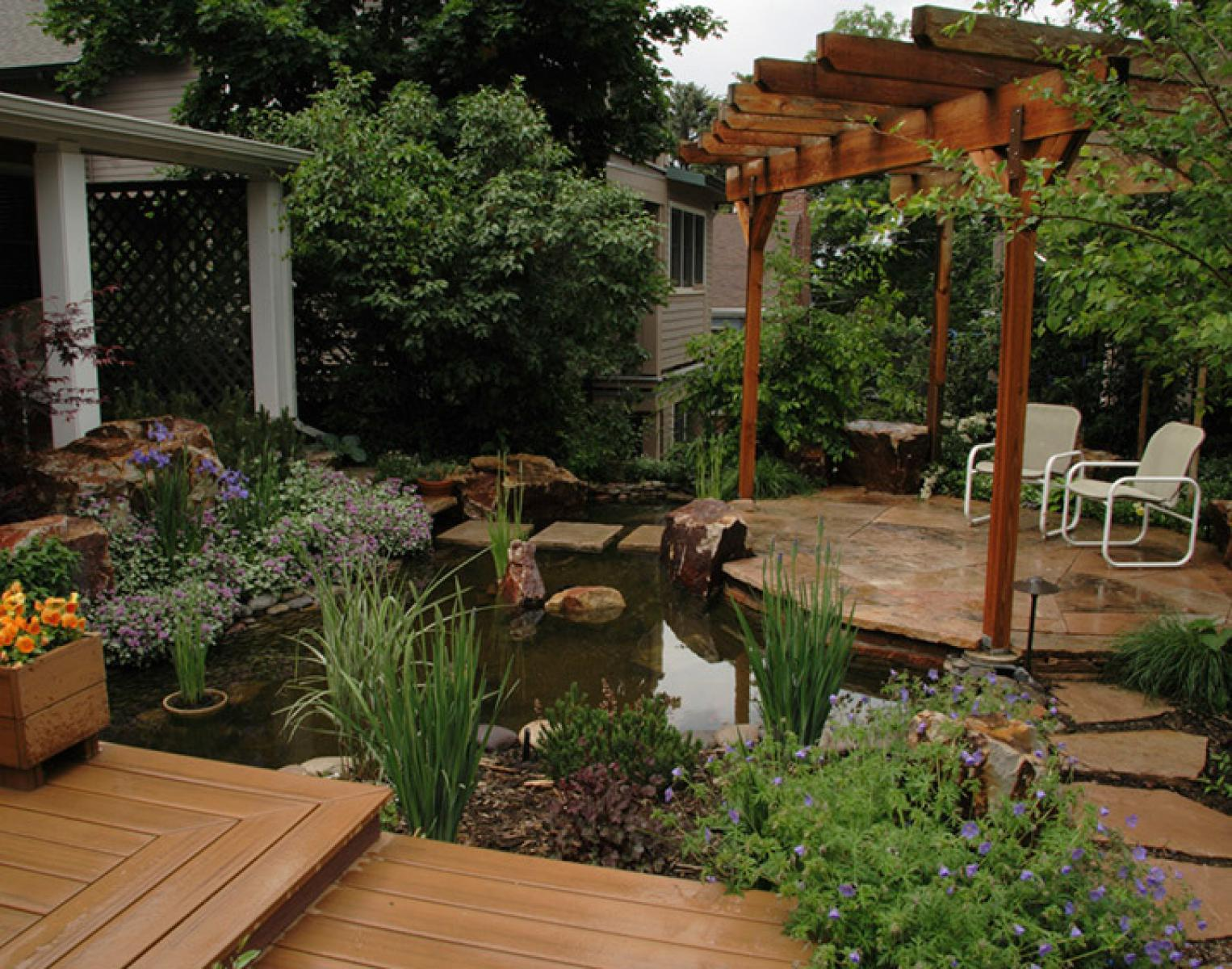 intimate gardens residential landscaping colorado residential